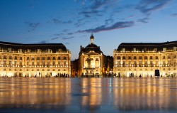 Place de la Bourse in Bordeaux