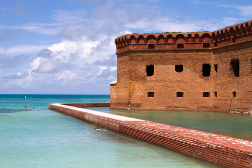 Fort Jefferson in Florida