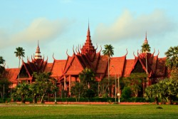 Nationaal Museum in Phnom Penh, Cambodja