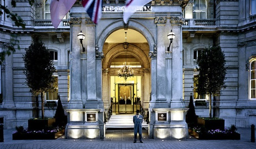The Langham Hotel in Londen