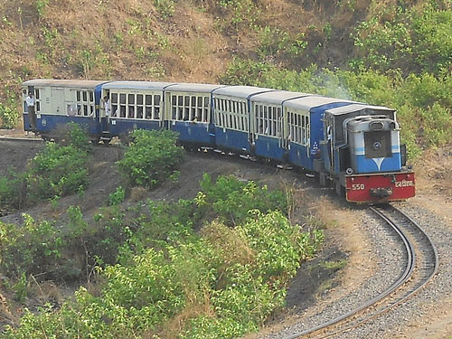 Matheran Hill Railway, India