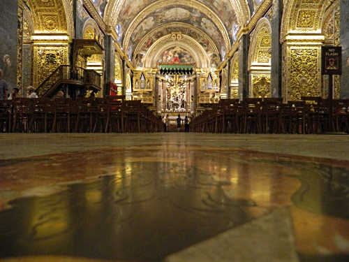 St. Johns Co-cathedral in Valletta