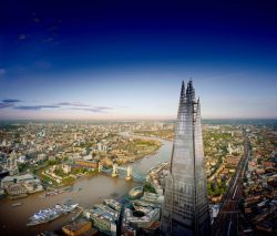 View from The Shard, Londen
