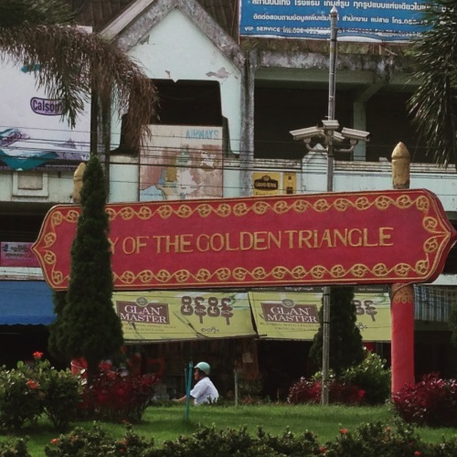 Golden Triangle bij Chiang Rai