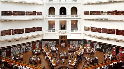 State Library in Melbourne