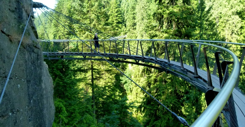 Cliffwalk Capilano Suspension Bridge, Vancouver