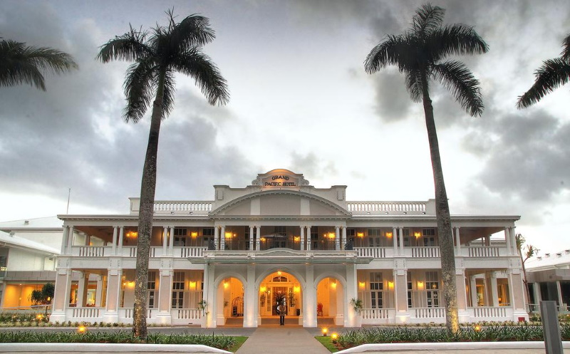 Grand Pacific Hotel in Fiji