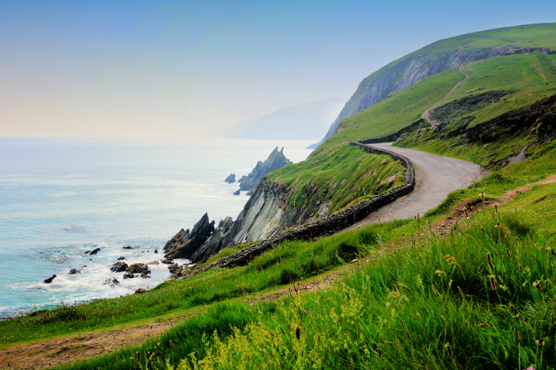 Slea Head Drive in Dingle
