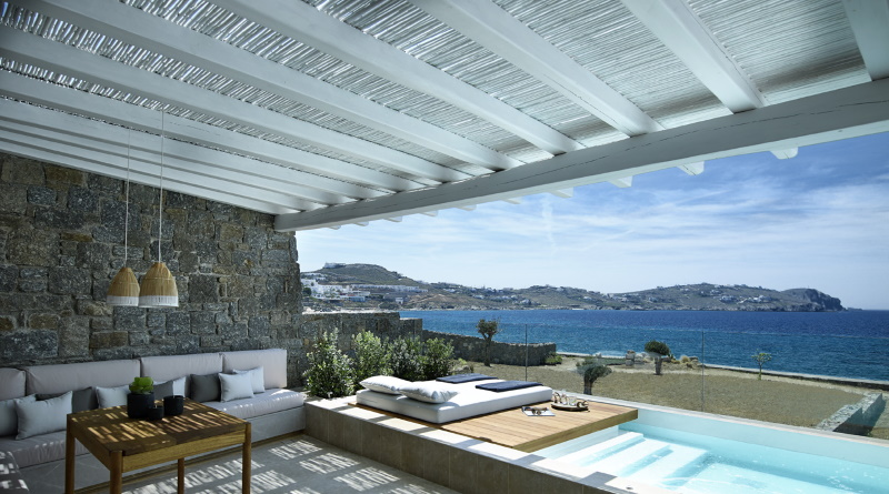 Bill and Coo Suites Hotel op Mykonos