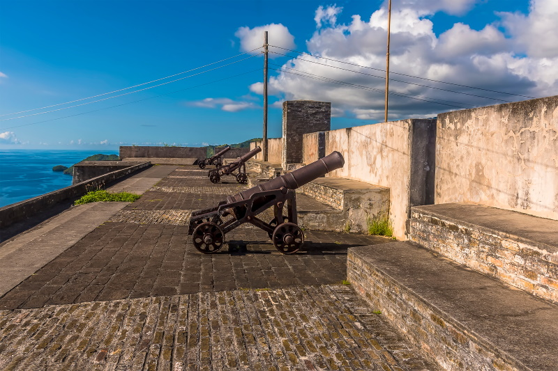 Saint Vincent Grenadines Fort Charlotte