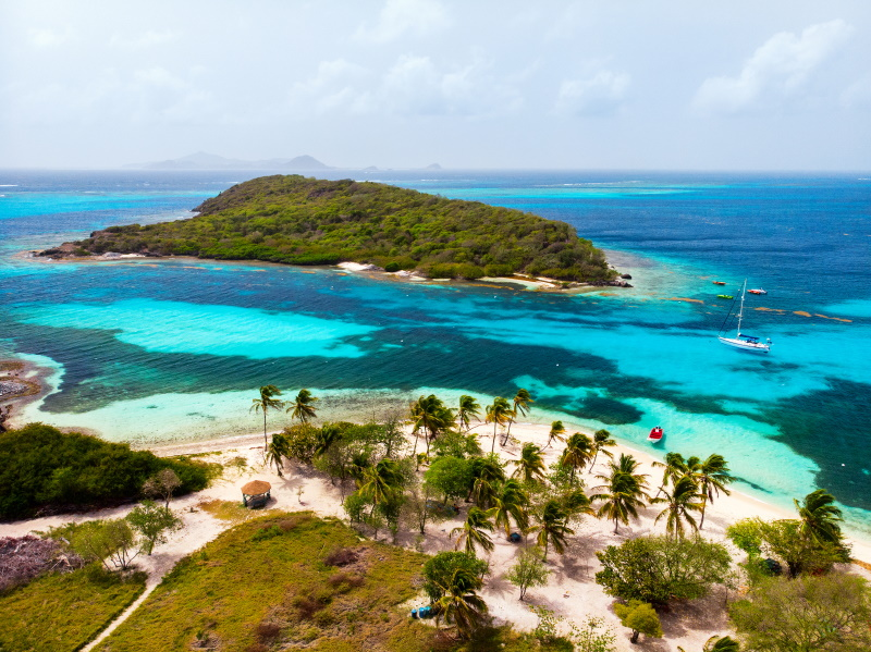 Saint Vincent en Grenadines Tobago Cays